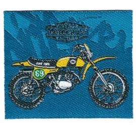 Écusson Motorcycles 2 vintage motocross