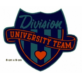 Écusson Blason university team