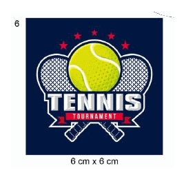 Écusson Tennis tournoi