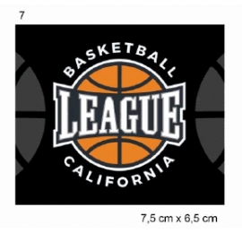 Écusson Basket league