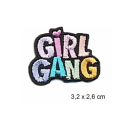 Écusson Girl Gang