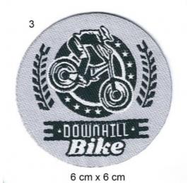 Écusson Vélo Downhill