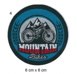 Écusson Vélo Moutain bike Rond
