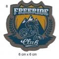 Écusson Vélo Freeride
