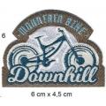 Écusson Vélo Moutain bike downhill