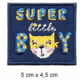 Écusson Super little boy