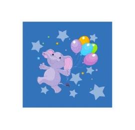Écusson Éléphant dans les étoiles