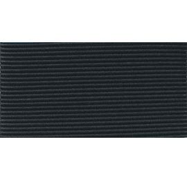 Elastique rond 1.5 mm noir