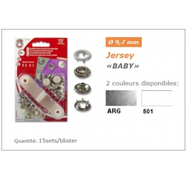 Boutons Pressions pour jersey