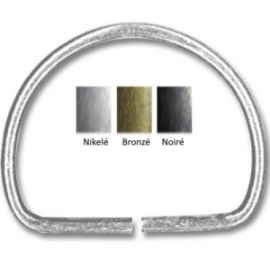 Demi-anneaux métal