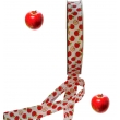 Biais imprimé motif : pommes
