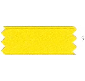 Ruban satin Jaune citron 5