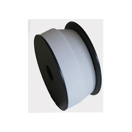 Élastique large 50 mm blanc