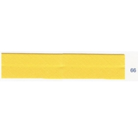 Biais unis jaune bouton d'or 66
