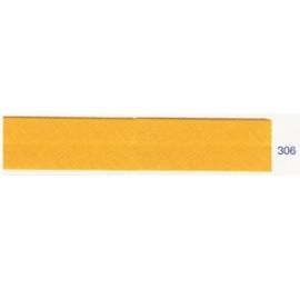 Biais unis jaune orangé 306