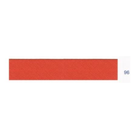 Biais polyester unis rouille 96