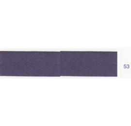Biais unis bleu violet foncé 53