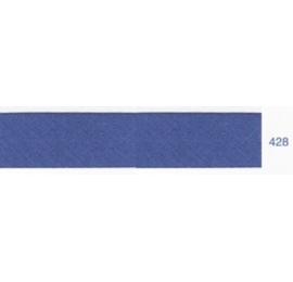 Biais unis bleu roi 428