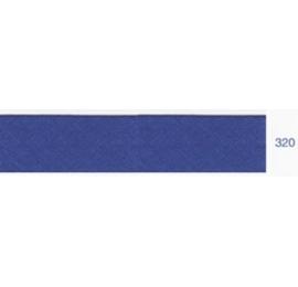 Biais unis bleu marine 320