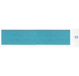 Biais unis bleu turquoise 23