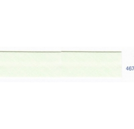 Biais unis vert crème de menthe 467